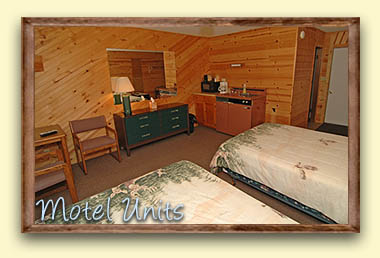 Motel Vacation Lodging in Northwoods of Wisconsin